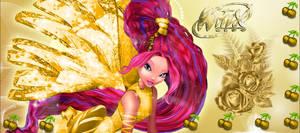 Winx Club Aisha Gold 3D Sirenix!_REQUEST!
