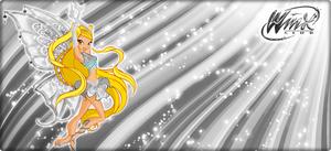 Stella  Silver Enchantix Wallpaper!