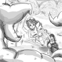 bryna protects Krono