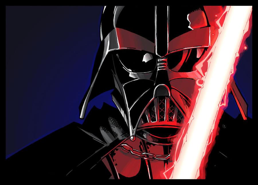 Darth Vader by coloring