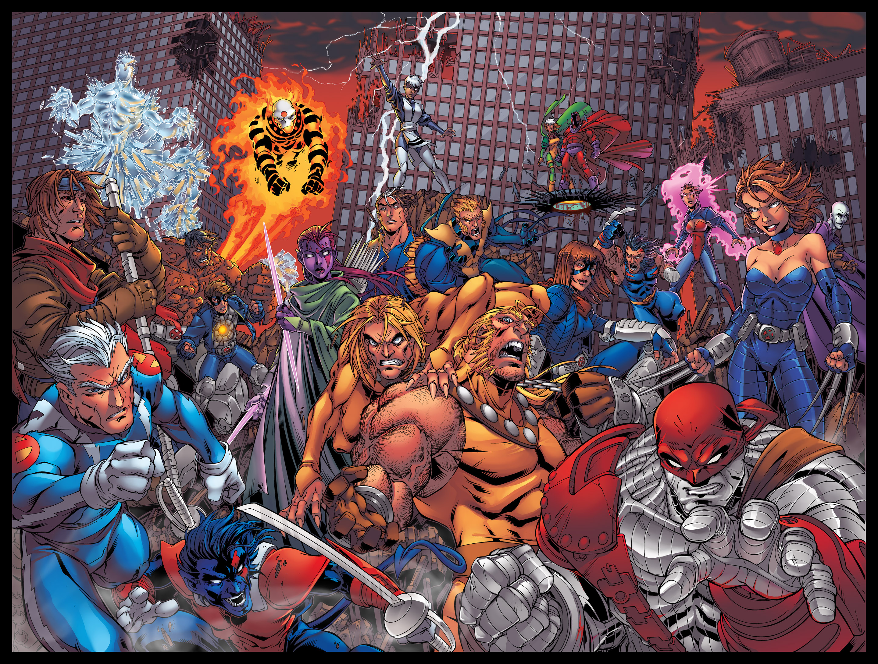 Men Age of Apocalypse by coloring on DeviantArt X Men Age Of Apocalypse Blink