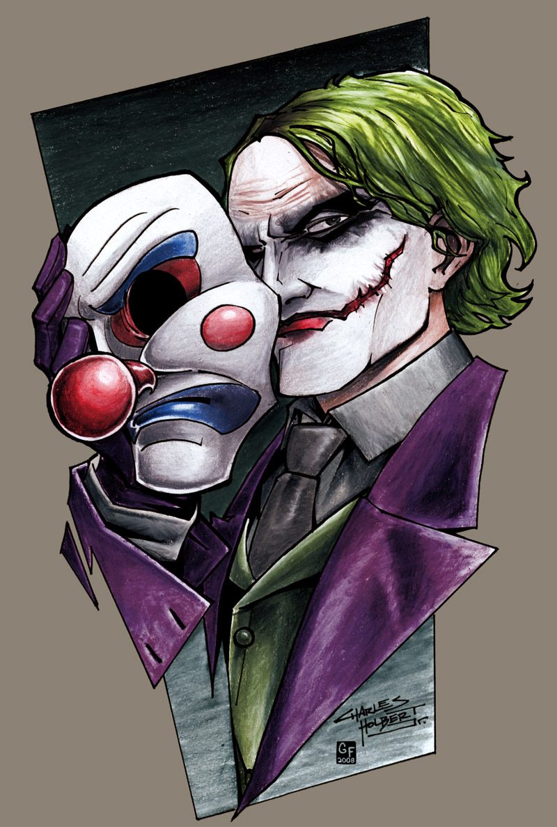 Joker By Coloring On DeviantArt
