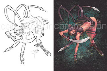Commission - DJ Goh-Goh by coloring