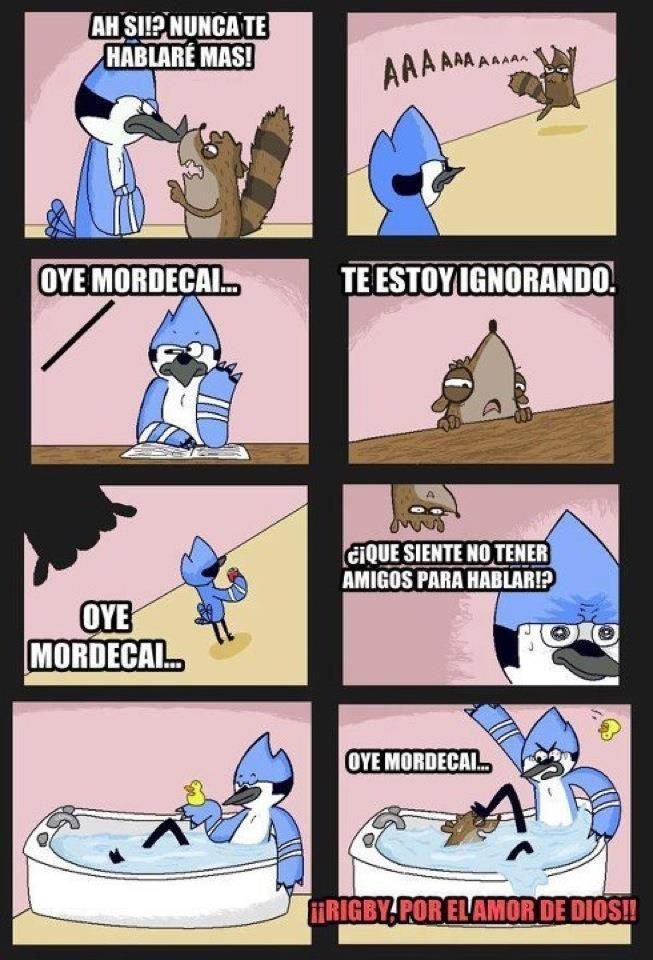 Oye Mordecai by Mia-Raccoon