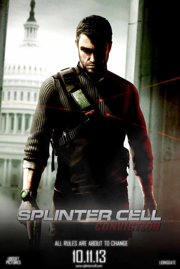 Splinter cell conviction poster by francus321 on DeviantArt