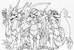 Guardianes y Sparx (Guardians and Sparx)