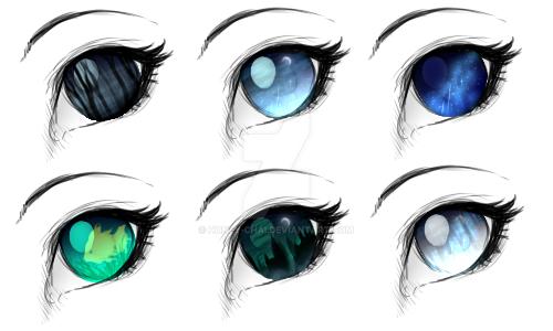 Eye Practice by Honey-Chai