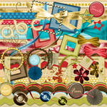 Summer's Fun Kit - elements