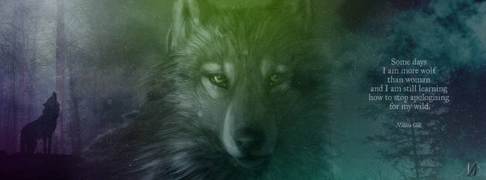 Facebook Cover - Wolf