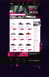 Shoes Shop by lukaszsokol