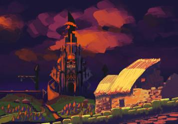 Skelly Project: Village by OssiferousRex