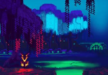 Skelly Project: Swamp by OssiferousRex