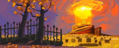 Skelly Project: Graveyard by OssiferousRex