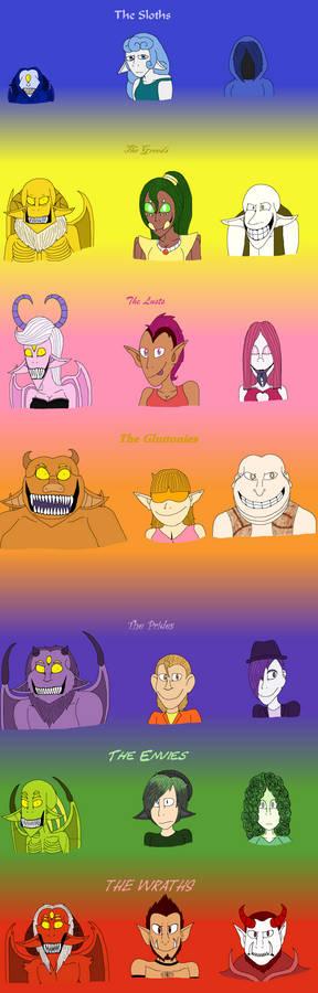 The 21 Sins