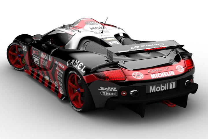 Carrera Gt Lemans Wip By Camoteguau18 On Deviantart