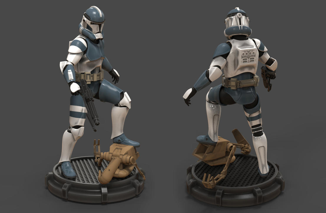 Clone Trooper Phase II by camoteguau18 on DeviantArt