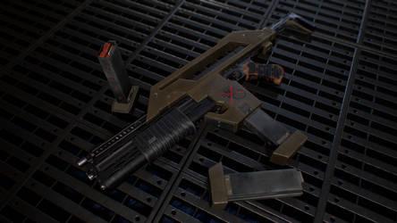 Aliens Pulse Rifle
