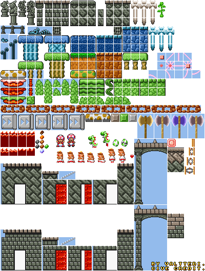 Super Mario Maker's updates/DLC by qwertyuiopasd1234567 on