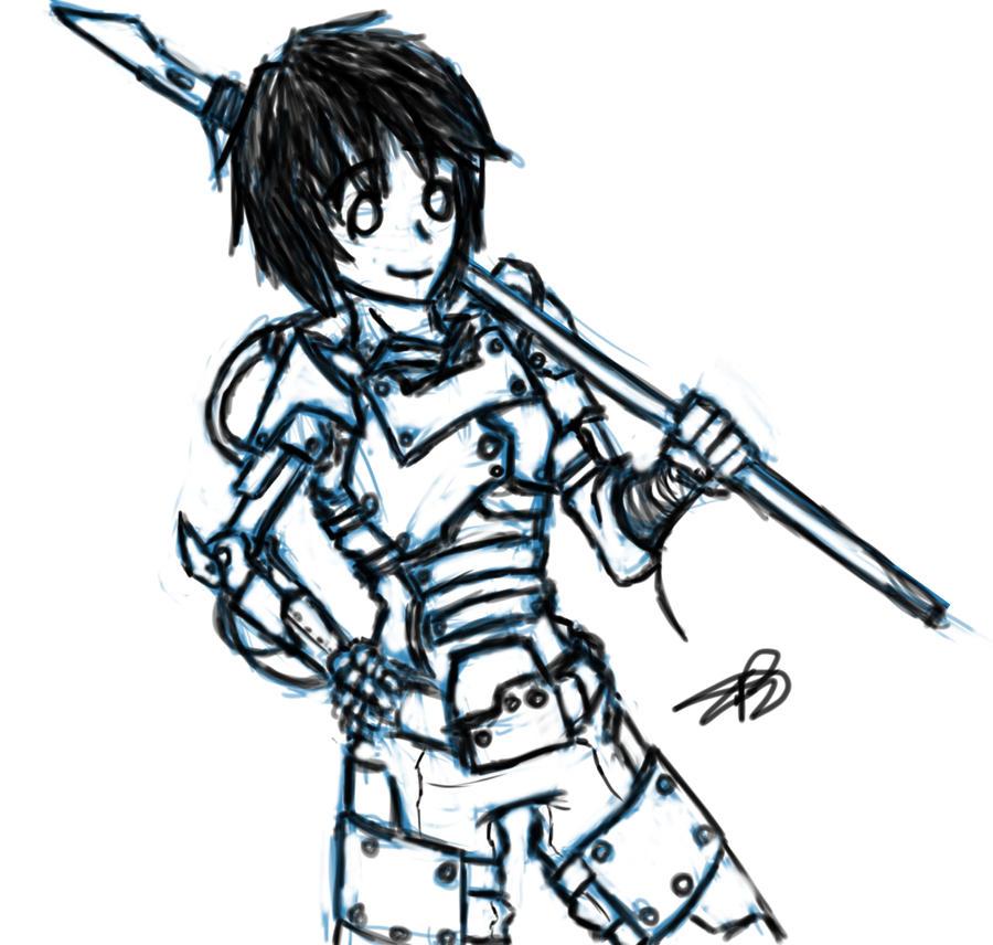 TG: Reasonable Wastelander by BloodCri