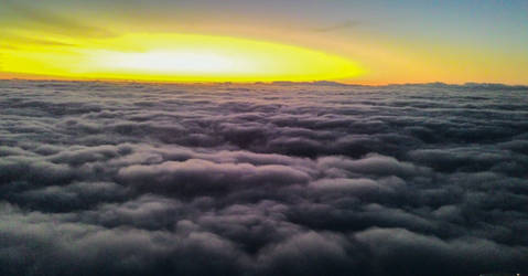 Cellphone - Above the clouds - Sao Paulo 5 am