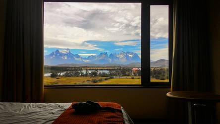 Cellphone - Torres del Paine View.