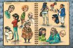 SketchCrawl 2009 Sketches