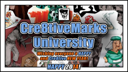 HAPPY NEW YEAR where ever you! by Cre8tivemarks