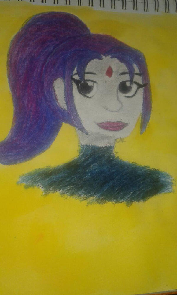 Raven of Teen Titans by SparklyGirl1