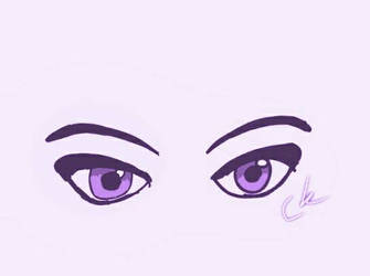 Eyes. Purple filter by SparklyGirl1