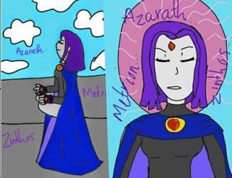 Meditating Raven by SparklyGirl1