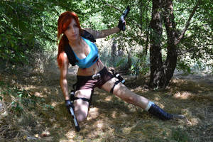 Lara Croft by elena-len