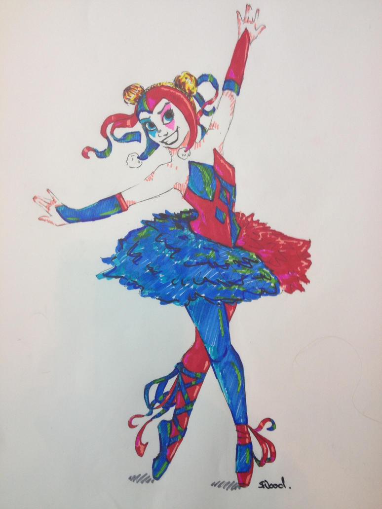 Harley Ballerina by ChameleonColours