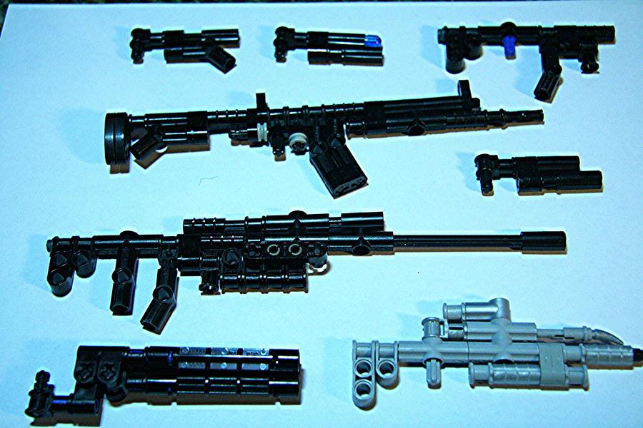 custom guns by Deadpool7100
