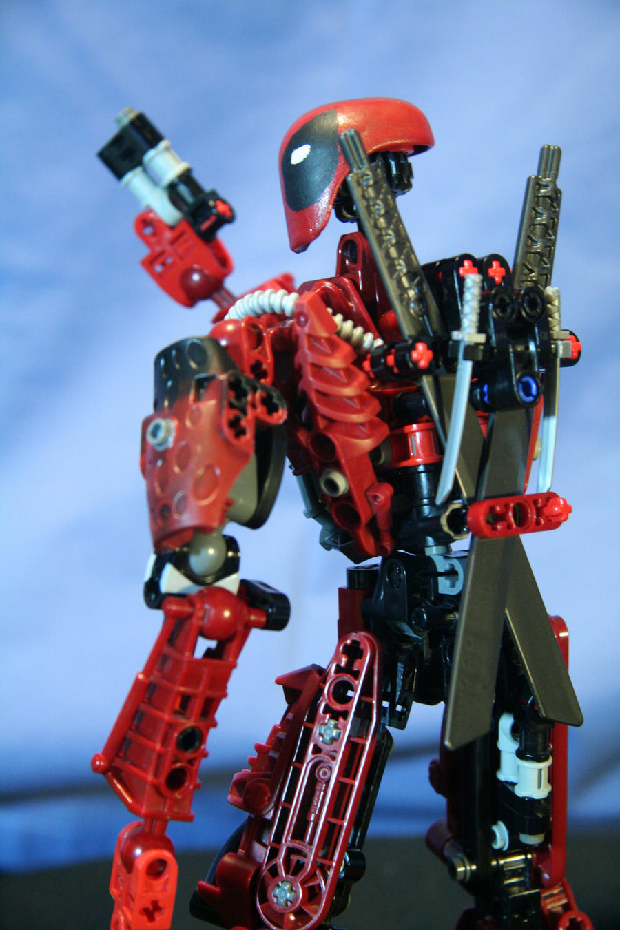 Deadpool katana sling by Deadpool7100