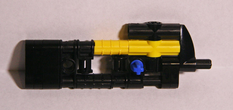 how to make a lego gun magazine