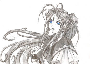Belldandy by kajcia1