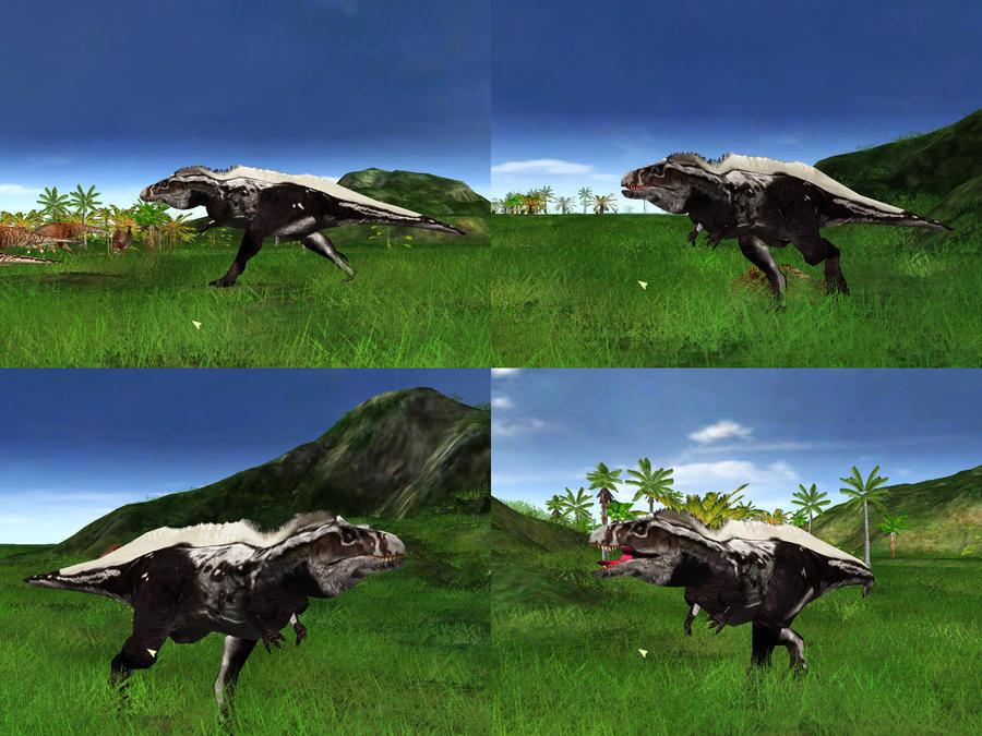 Jurassic Park Operation Genesis Acrocanthosaurus