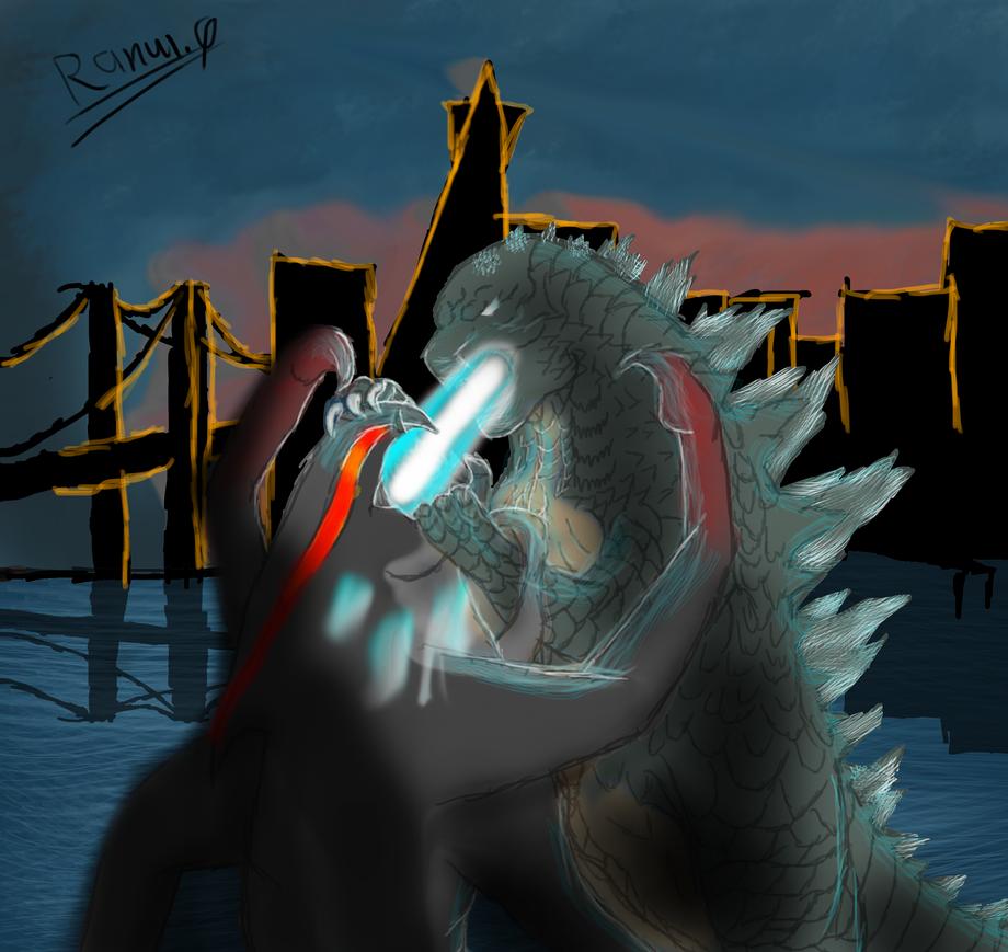 Godzilla 2014 Favorite Scene#3-Kiss Of Death By