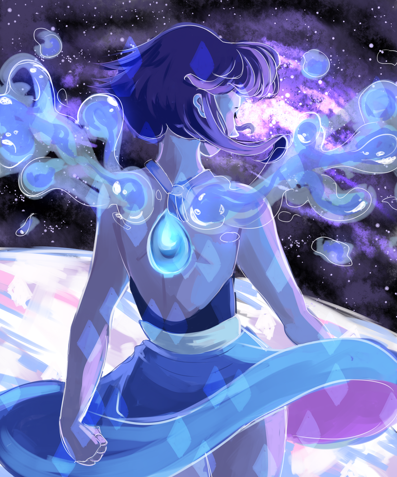i started watching steven universe and i looove it so much its super amazing and i had so muc fun drawing lapis