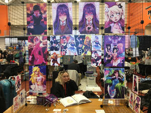 Artist Alley Booth