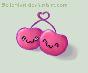 Cherries :3 by Bellenian