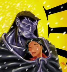 Goliath and Elisa by Trinivee