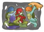 TMNT: Pillow fight