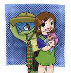 TMNT: Leo and Abee