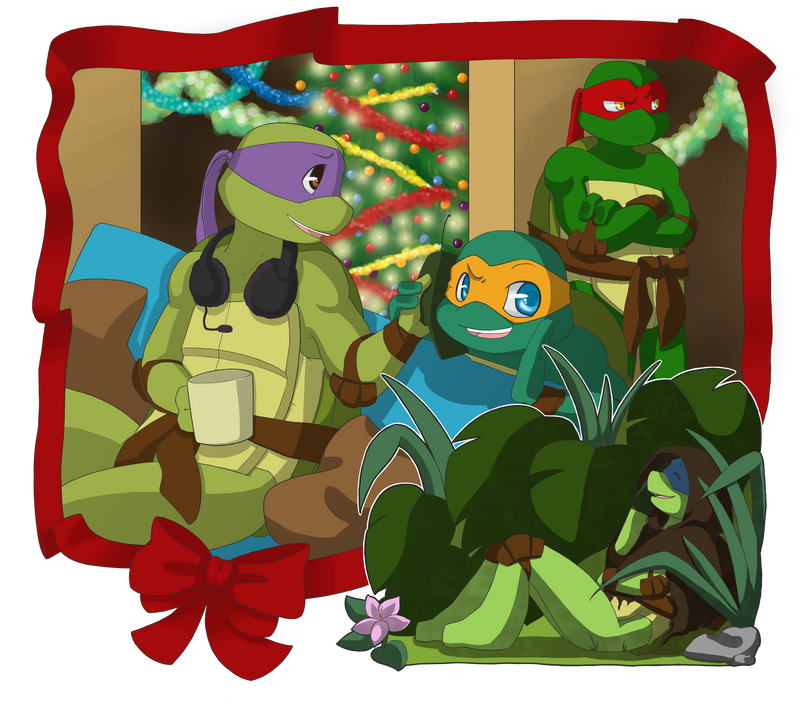 TMNT: Secret Santa 2011 by NamiAngel