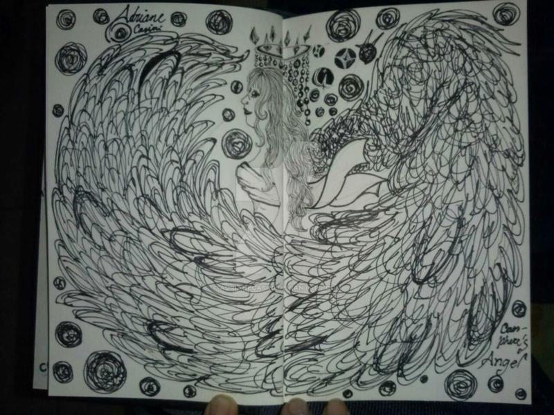 Caos-phere's Angel by AdrianeCasini