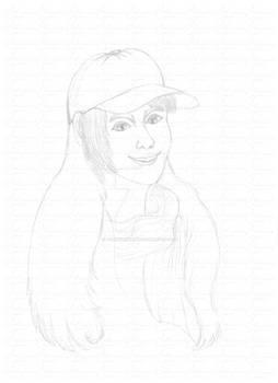 [COMMISSION] - Matilde sketch for Spike-McFinn