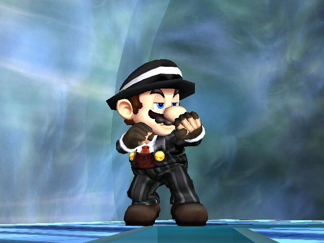 Mafia Mario by RandomlyEvilXirroq