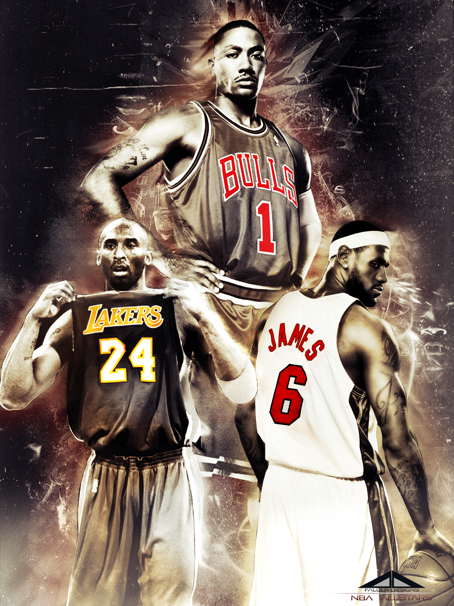 nba allstars by thefunplaya nba allstars by thefunplaya