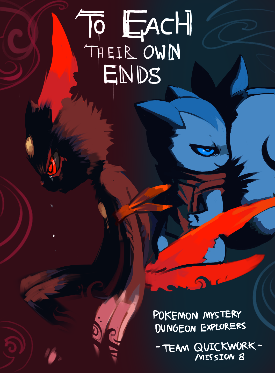 To Each Their own Ends - Cover